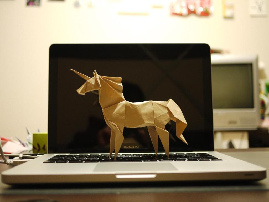 Une licorne sur un laptop (Yosuke Muroya/Flickr/CC-NC)