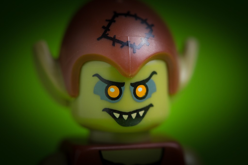 Une figurine Lego au visage de troll (clement127/Flickr/CC-BY-NC-ND)